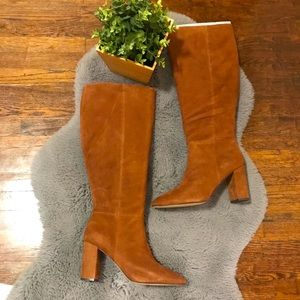 Charles David | Knee high suede boots